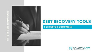 Debt Recovery Tools for Debtor Companies