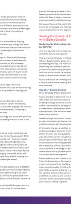 Agenda (page 2) - Communicators Summit 2019