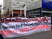 """""""L'évacuation"""" du Lycée Quarré - Maison Des Réfugiés"""