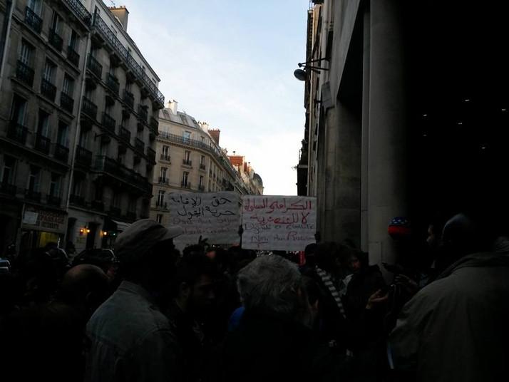 """Grève de la faim des """"évacués"""" de Pajol dans un centre d'hébergement Aurore - version fran"""