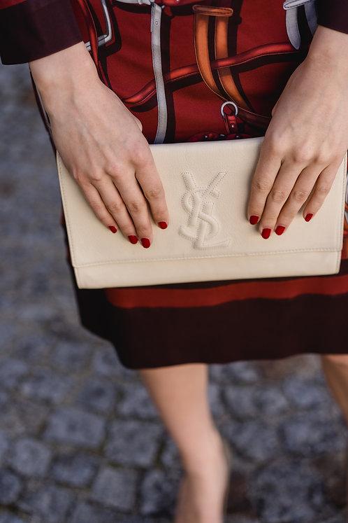 """Yves Saint Laurent """"Belle du jour Clutch"""""""
