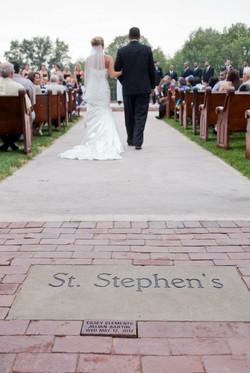 st stephens  j& c walking away from brick