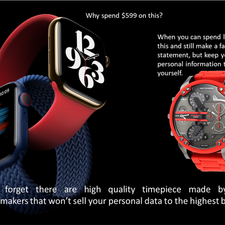 Owners of Smart Watches Beware!