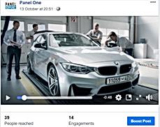 Panel One Facebook marketing
