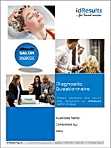 idResults SALON DIAGNOSTIC questionnaire