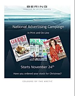 Bering Trade Marketing Advertsaiing