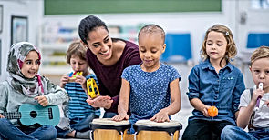 Imperial Artistry teaches kids to play drums