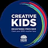 Registered CREATIVE KIDS Provider