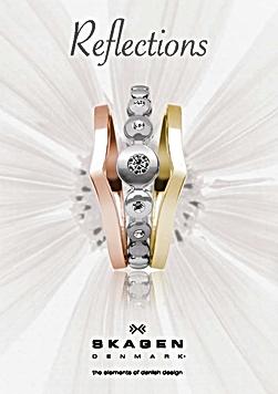 Reflections jewellery by Skagen Denmark
