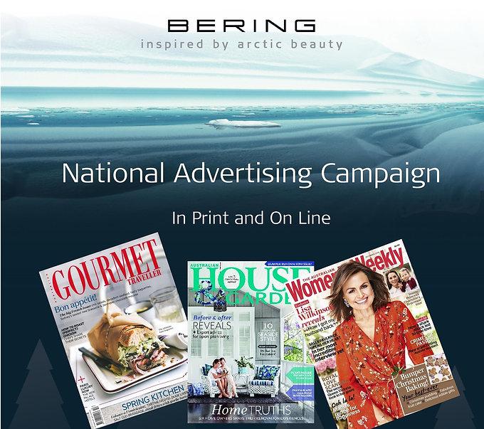 Bering Xmas Advertising Campaign
