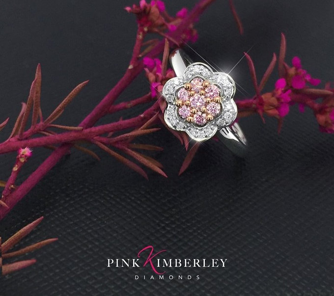 Pink Kimberley Diamond Jewellery