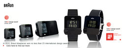 Braun Timepieces