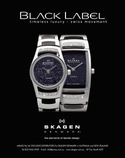 Skagen Black Label Watches