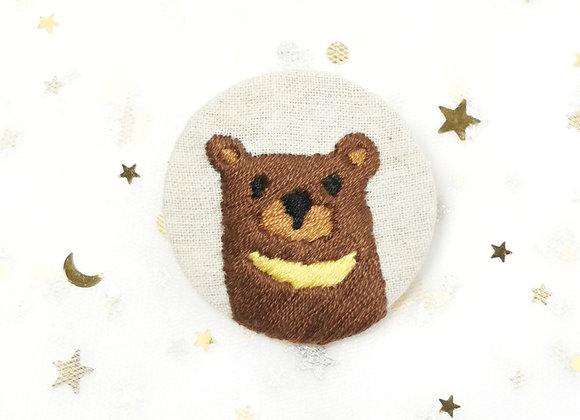 Moon Bear (4.5cm x 4.5cm)
