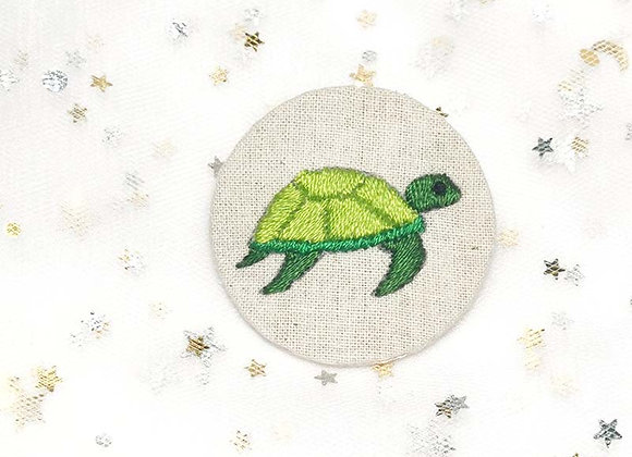 Embroidered Turtle