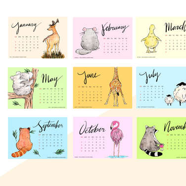 BUTTBUTT Calendar 2019