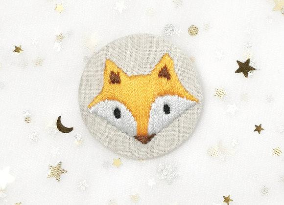 Fox (4.5cm x 4.5cm)
