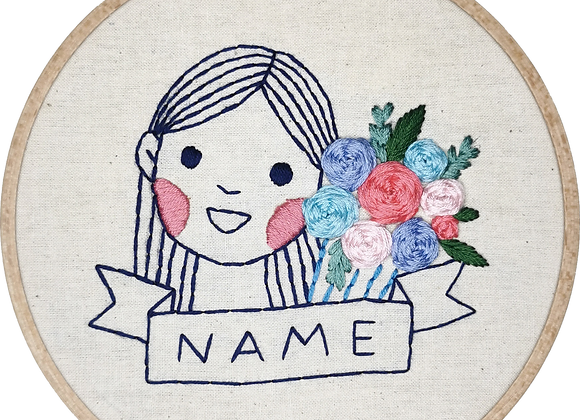 Portrait Embroidery (Type 1, 1 pax)
