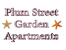Plum Street Logo Text Hollow Extruded wi