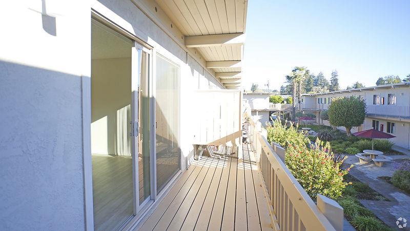 exterior balcony view
