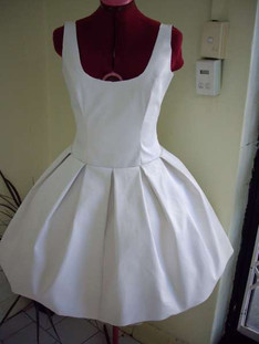 Canvas Tutu dress