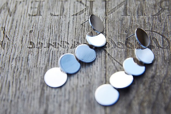 PROVENCE DROPLET EARRING - Silver