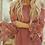 Thumbnail: Off Shoulder Crochet Hem Top-Rust