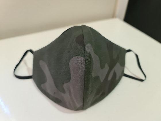 Army Green Camo Face Mask