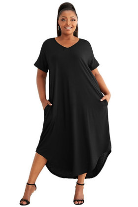 Black Summer Maxi Dress