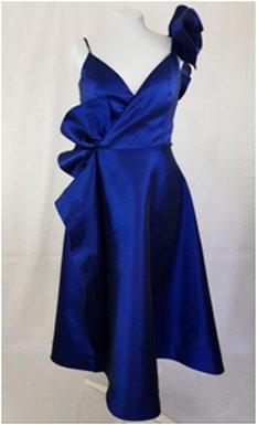 Taffetta Frills Dress