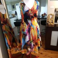 Fun Floral Print Dress
