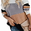 Thumbnail: Peach & Grey Color Block Sweater