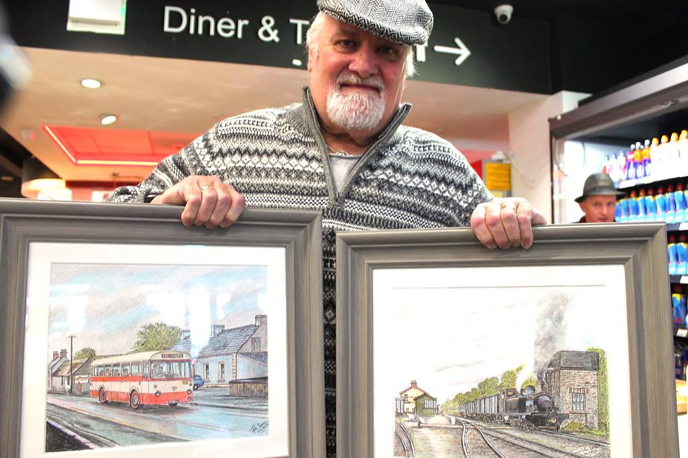 John Baird pictured in Kernans Newtowncunningham