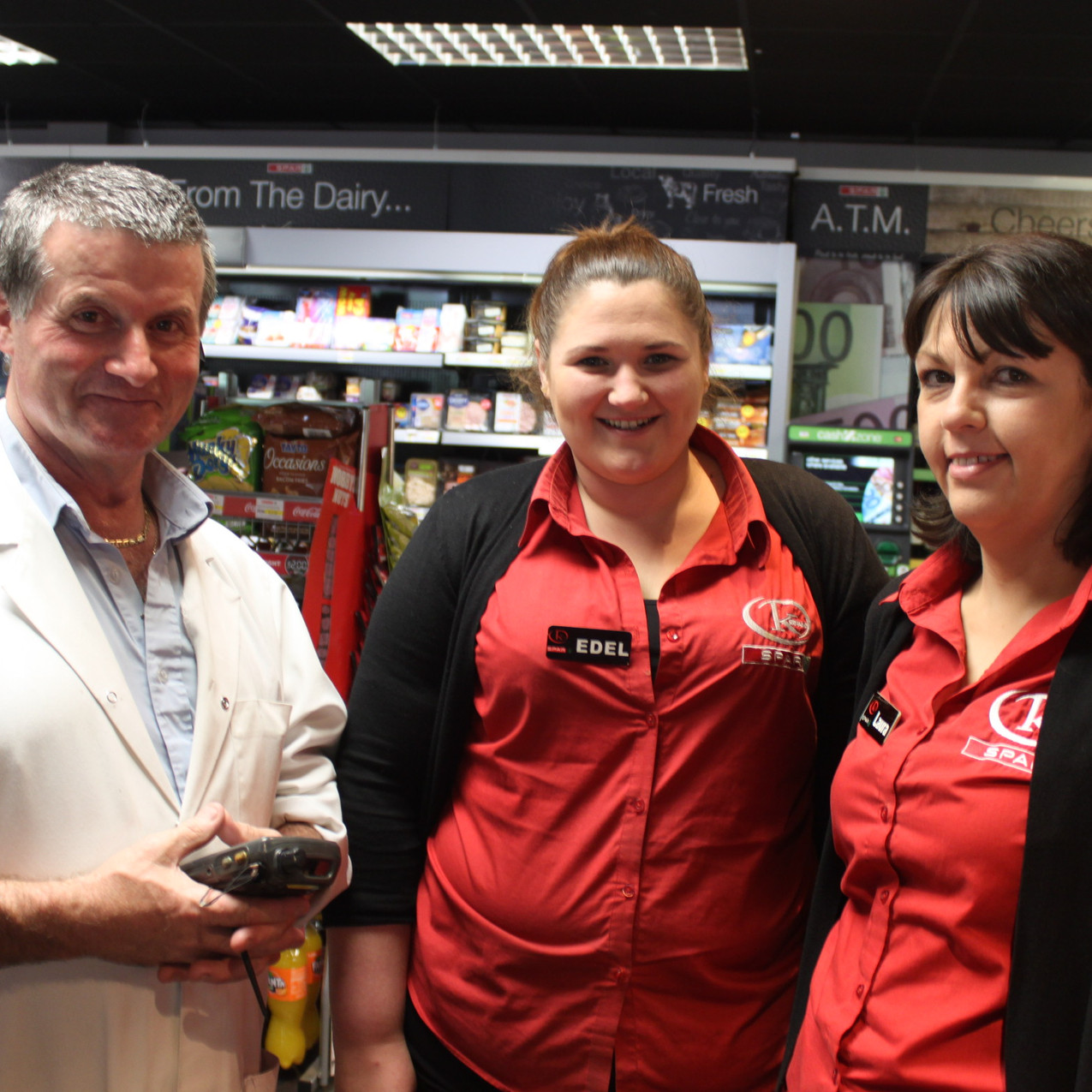 Laura, Edel & Pat from Lundy Foods