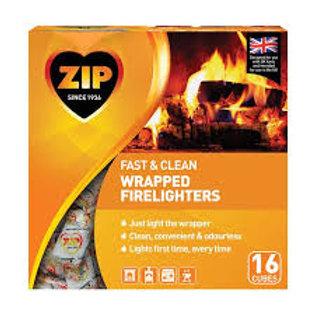 Zip Firelighters 16 Pack