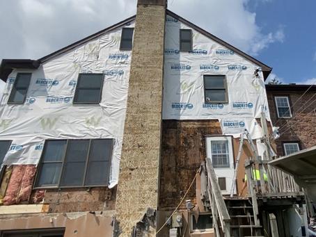 Stucco and Damaged Homes