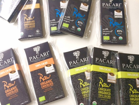 PACARIのご紹介 ローチョコレート4種