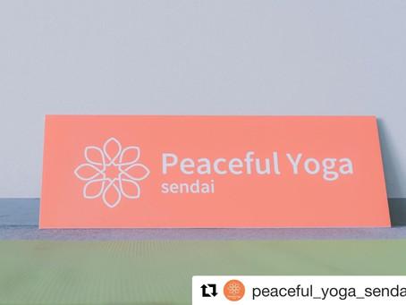 3/8(日)Peaceful Yoga sendai vol.10 延期のお知らせ