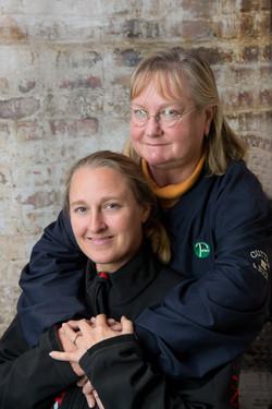 Carolyn and Amanda