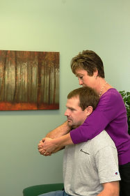 Chiropractic adjustment of an extremity