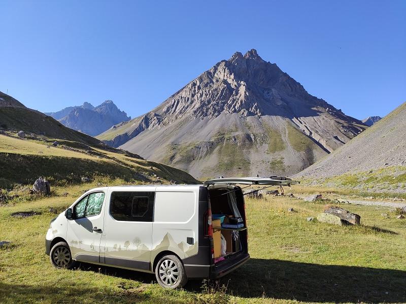 Camp In Van au Col du Galibert
