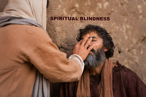 Spiritual Blindness - audio