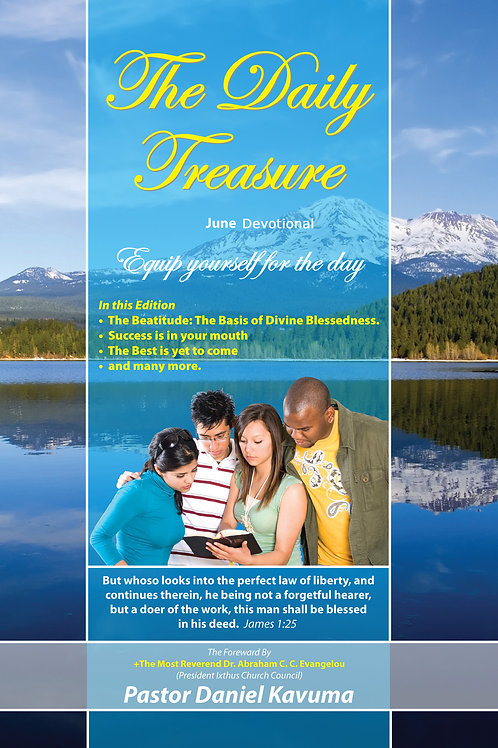THE DAILY TREASURE: June Daily  Devotional - PaperBook