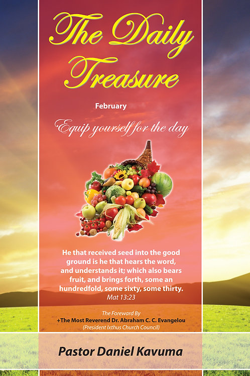 THE DAILY TREASURE DEVOTIONAL - FEBRUARY EDITION - ebook