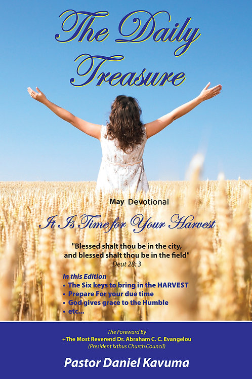 THE DAILY TREASURE DEVOTIONAL - MAY EDITION - eBook