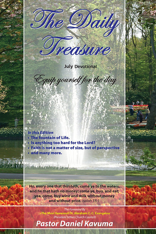 THE DAILY TREASURE DEVOTIONAL - July Edition - eBook