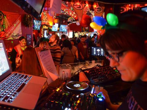 DJing Saturday Night