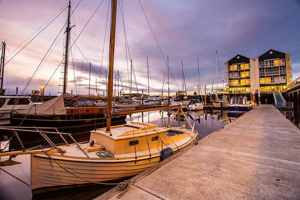 Launceston seaport in beautiful twilight sky, Launceston, Tasmania, Australia.jpg