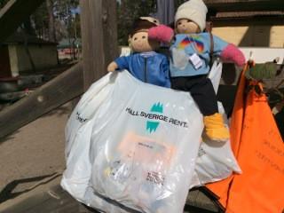 Veda & Barke hjälper till att hålla Sverige rent!