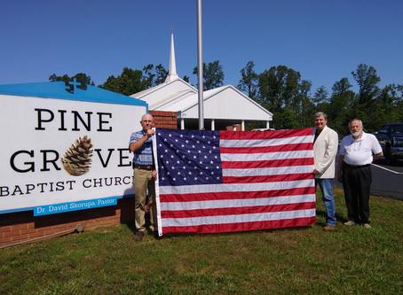 Pine Grove June / July update from Pastor David